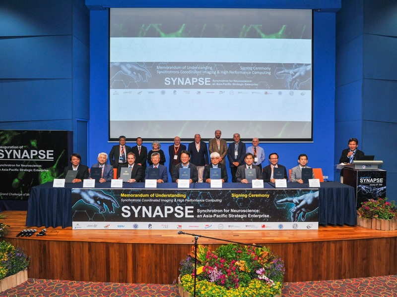 The Historical Scientific Enterprise SYNAPSE Inaugurated: Asia-Pacific Scientists Join Forces for the First Comprehensive Map of a Human Brain