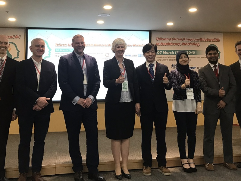 Small Economy, Smart Strategy: Taiwan-UK AI Cooperation Creates New Opportunities. TW-UK Bilateral AI in Healthcare Workshop and The WorldCafé