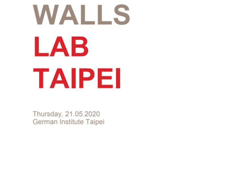 "Three Minutes to Change the World! First ""Falling Walls Lab"" in Taiwan"