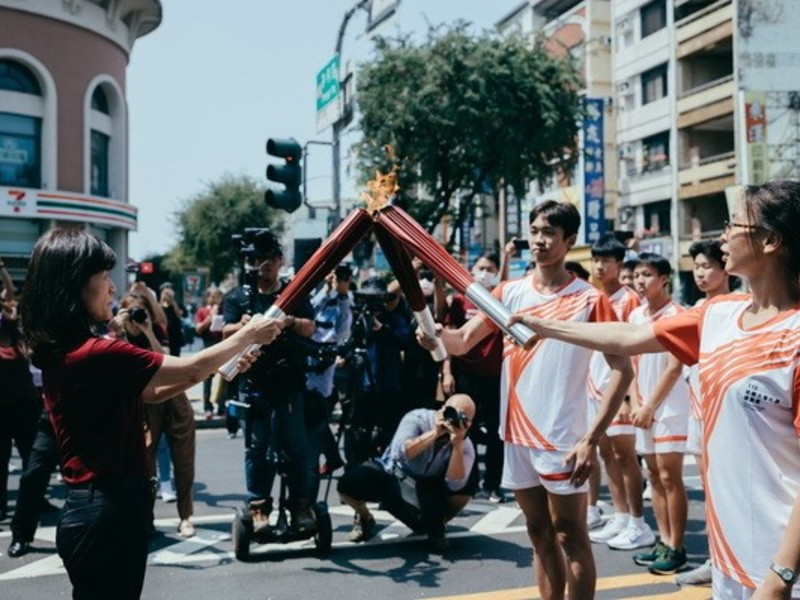 Torch Flame Goes to Space: Innovative Sports Event by NCKU Space Technology